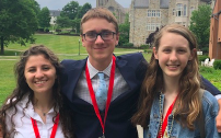 Trio Selected for HOBY Leadership Seminar