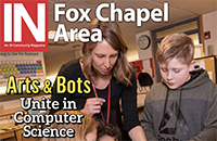 In Fox Chapel Area magazine cover Spring 2019