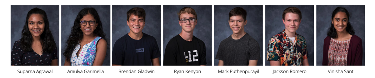 FCAHS National Merit Semifinalists