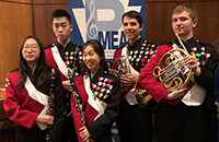 Students chosen for PMEA Honors Band