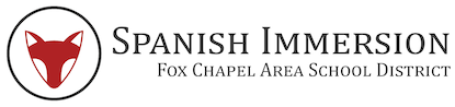 Spanish Immersion Fox Chapel Area School District Logo
